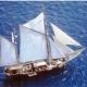 En un velero de 170 años