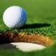Jugando golf en Buenos Aires