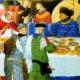 Modales en la mesa según Leonardo da Vinci