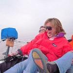 En velero de Buenos Aires a Punta del Este