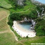 La playa más pequeña del mundo