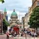 Belfast,  capital del Titanic y de  Irlanda del Norte.