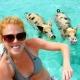 Nadar con cerditos