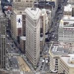 Edificio Flatiron, centenario y lascivo