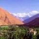 Valle de Elqui en rojo y azafrán