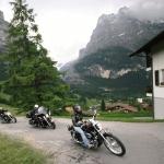 ¿Te imaginás Suiza en Harley Davidson?