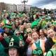 St. Patrick en Dublín, verde que te quiero verde