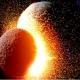 La luna se aleja cinco centímetros por año