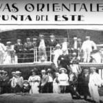 Punta del este, los primeros turistas