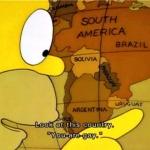 """""""¿Uruguay?"""" """"¿Dijo Paraguay o Uraguay?"""""""