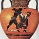 Hipólita y Pentesilea, derrotadas por el amor