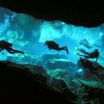 Ríos mayas subterráneos
