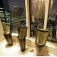 Un jardín de Nueva York, las lechugas más caras y un toilette de Hong Kong