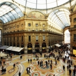 Passerella sopra la galleria Vittorio Emanuelle
