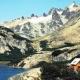 Sendero andino, cumbres del paisaje