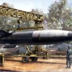 Misil alemán V-2,  el comienzo de la era espacial