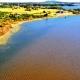 Contaminación en la Laguna del Sauce