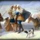 La Pequeña edad de hielo en el Rio de la Plata (1829)