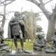 Montevideo y sus esculturas de charrúas