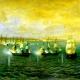 Drama naval en tres actos, con los héroes americanos