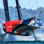 Barcos más rápidos que el viento, ¿navegan o vuelan?