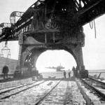 El puerto de Montevideo y la escollera Sarandi