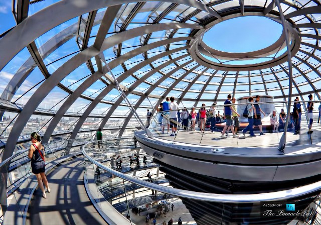 014-The-Reichstag-Dome-–-A-Sculpture-of-Light-Above-Government-in-Berlin-Germany