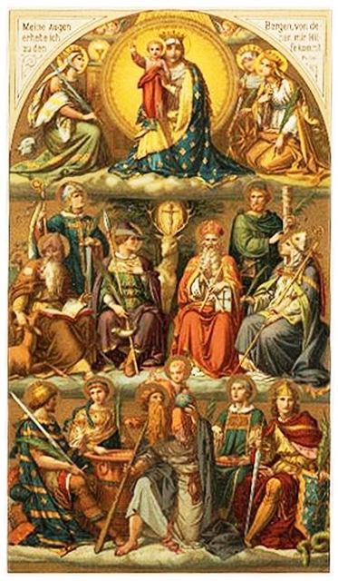 14 santos auliadores oracion contra todo mal