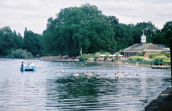 Bares en parques Lido Serpentine Hyde Park London 01