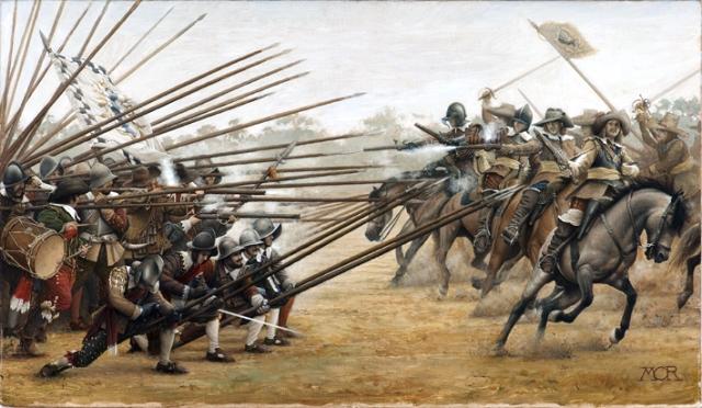 Batalla-de-Nordlingen-caballeria-picas