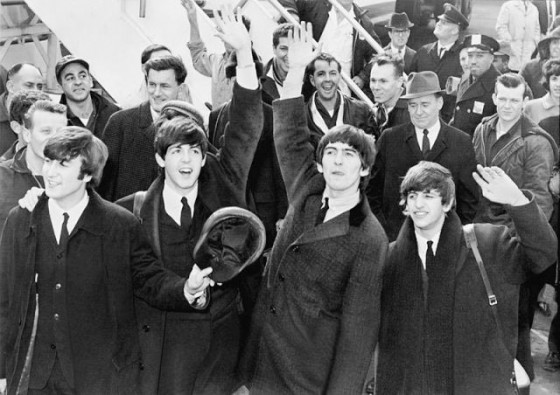 Beatles arriban a NY en 1964