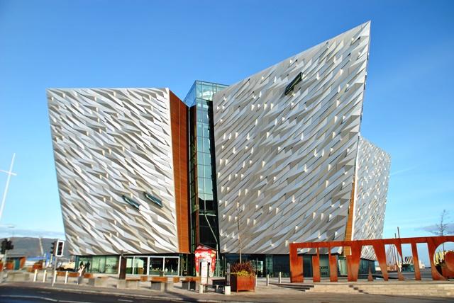 Belfast 7. Titanic Belfast, para conocer todos sobre la historia del ciudad y la construcción del transatlántico más famoso de la historia