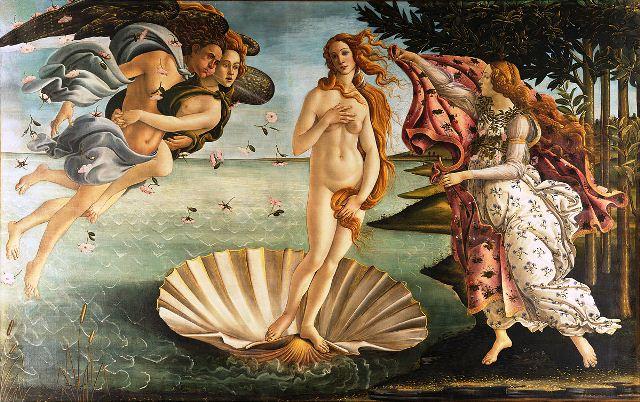 Botticelli nacimiento venus