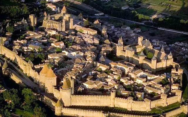 Carcassonne-castillo