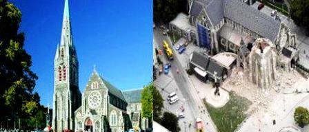 Catedral de Christchurch Lunes 21 de febrero de 2011