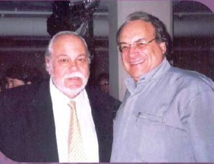Con Federico Britos