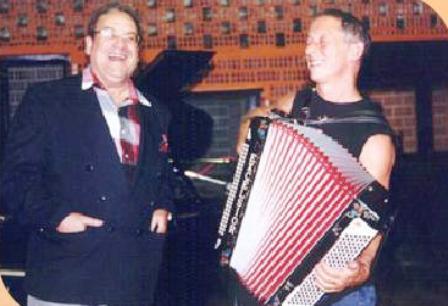 Con Hugo Fattoruso