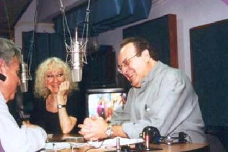 Con Julio Frade y Elsa Guirot