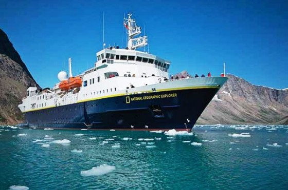 National Geographic Explorer in Greenland. 2008