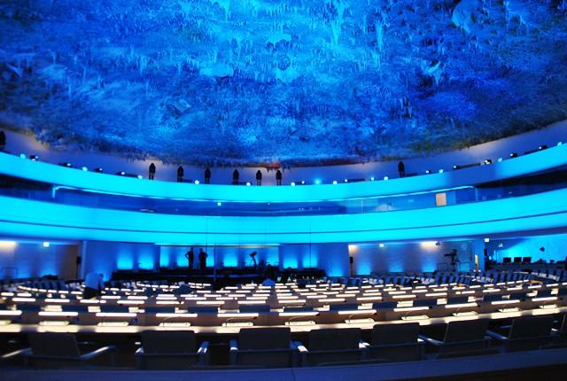 Cupula del Milenio en la ONU Suiza