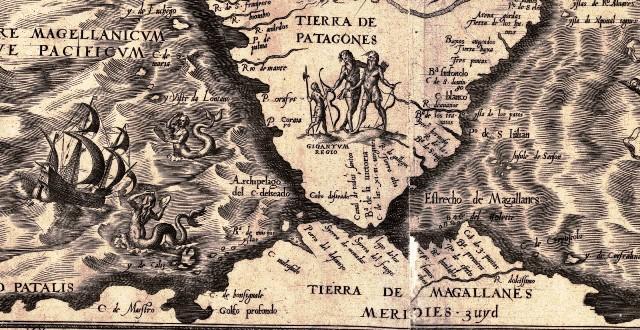 Detalle del mapa de Gutiérrez de 1562