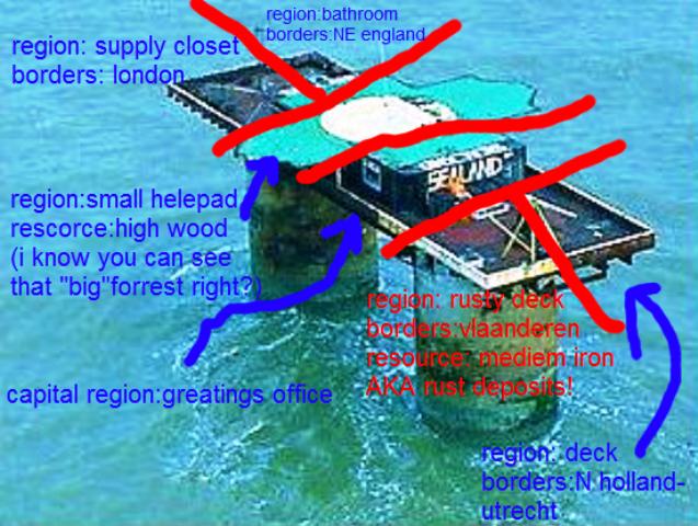 El mapa del microreino