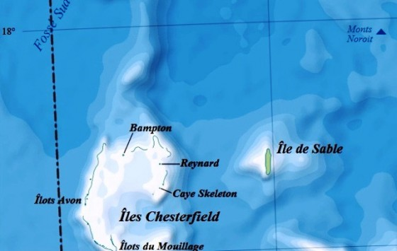 Ilhe de Sable (mapa francés)