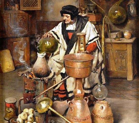 Joseph_Leopold_Ratinckx_Der_Alchemist