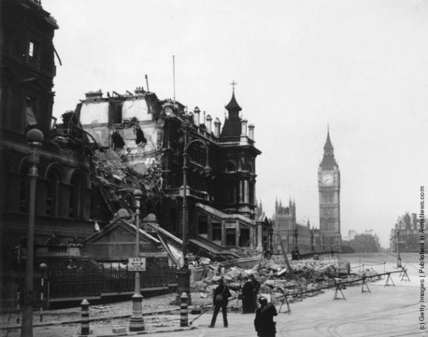 London during The Blitz (3)