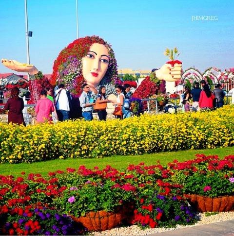 Lush-fab-glam.com dubai miracle garden 10