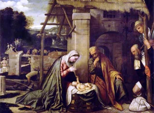 Natividad_pastores_il_Moretto