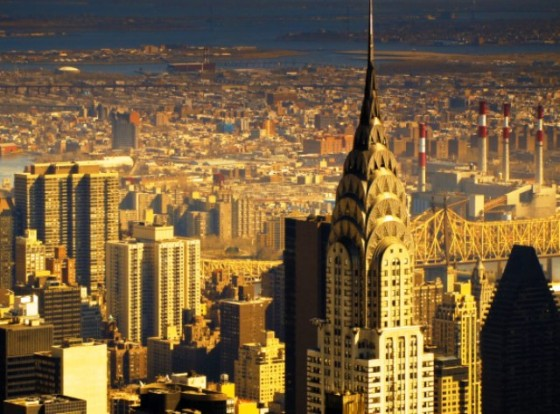 New-York-skyline-the-Chrysler-Building