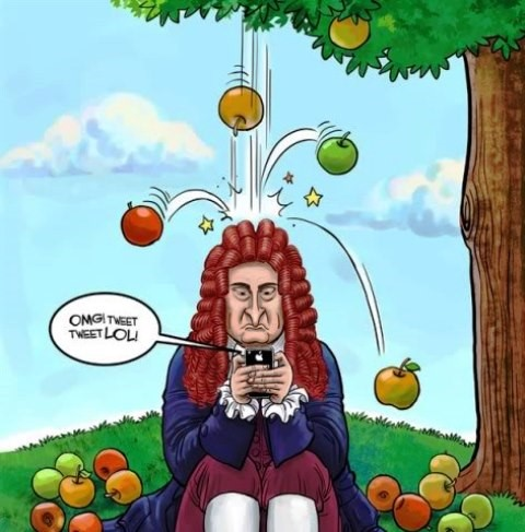 Newton-Cartoon-1