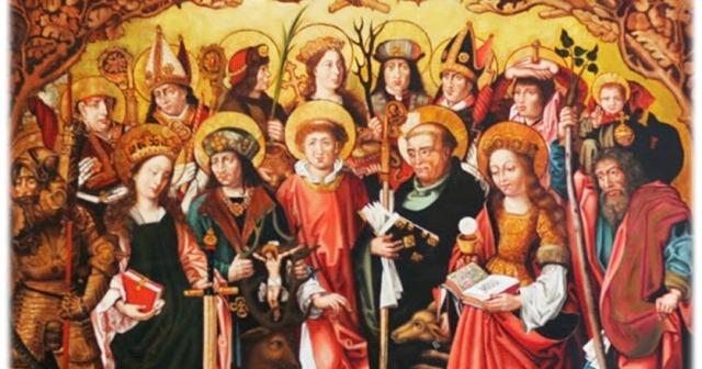 Oracion a los 14 santos auxiliadores